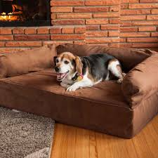 Extra Large Orthopedic Dog Bed by Snoozer Luxury Dog Sofa With Memory Foam Pet Couch