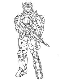 Heavy Halo Reach Coloring At Pages