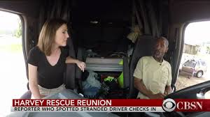 100 Hot Female Truck Drivers CBS Reporter In Short Skirt Reunites With Driver Who She