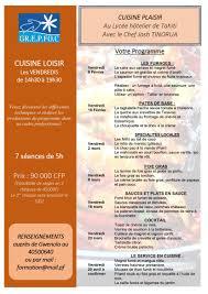 programme cap cuisine inscription cap cuisine best formation commis de cuisine awesome