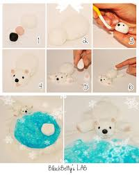 tuto fimo ours blanc bijoux sucrés