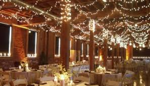 Wedding Ceiling Decorations At A Rustic
