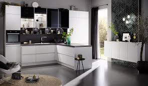 moderne einbauküche classica 1240 weiss matt grifflos