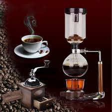Classic Siphonic Vaccum Commercial Coffee Bean Hand Grinder Machine For Sale