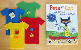 pete the cat books math for pete the cat and his four groovy buttons
