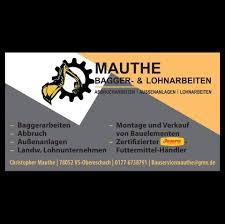 100 Mauthe Bagger Lohnbetrieb Home Facebook