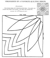 Q Is For Quilter Blog Archive Vintage Hand Quilting Patterns