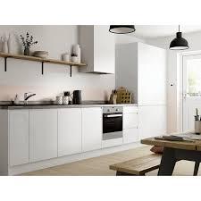 Madison White Gloss 8 Unit Kitchen Travis Perkins