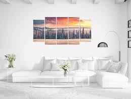 revolio leinwandbild wandbilder wohnzimmer modern kunstdruck