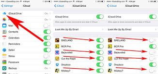 Disable Apps Have Access to iCloud Drive on iPhone iPad and Mac