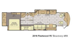 Fleetwood Bounder Floor Plans Colors 2016 Fleetwood Rv Discovery 40g For Sale In Tampa Fl Lazydays