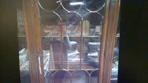 ebay vintage mahogany wood glass duncan phyfe style china