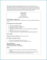 Nursing Resume Example Unique Rn Skills Sample Nurses Luxury Bsn Awesome Of