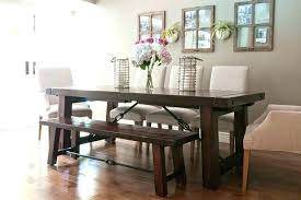 Dining Table With Bench Seats Square Room Round Seat