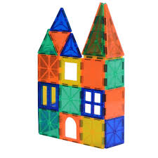 Magna Tiles Amazon Uk by Joy Mags Magnetic Tiles Clear Building Blocks Construction