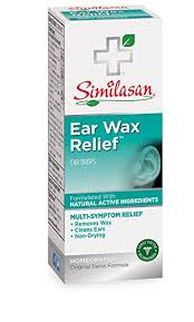 similasan ear wax removal kit 33 ounce bottle and