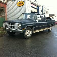 My Dream Truck , 1986 Chevy Custom Deluxe 20 Crew Cab