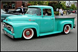 1956 Ford F100 Mint Green | Green Car Photography | Pinterest | Ford ...