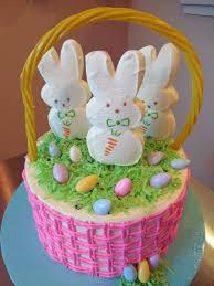 Easter Bunny Basket Cake