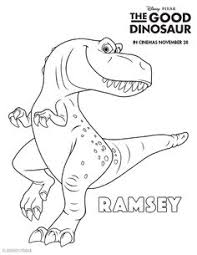 The Good Dinosaur Colouring Pages Coloring PagesFree Printable