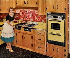 This Kitchen From A Vintage Caloric Advertisement