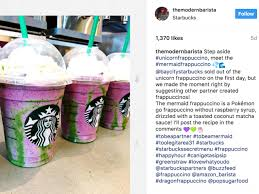Mermaid Frappuccino Is Starbucks Newest Secret Menu Drink