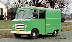 Chevrolet Step-Van 7 Model P1345 (1961) | Snaxtime | GRUMMIE | Step ...