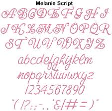Girly Embroidery Fonts