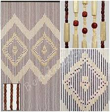 Doorway Beaded Curtains Wood by Natural Wood Beaded Curtain Door Beads Wooden Doorway Curtain Boho