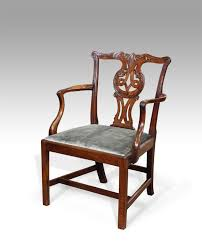 chaise de bureau antique carver chair