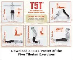 Five Tibetan Exercises The Power Of Yoga And Weight Loss
