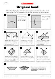 Origami Boat Printable Instructions How To Make A Paper Ship Making
