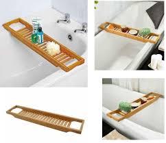 Bamboo Bath Caddy Nz by Bathtub Caddy Ebay