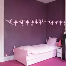 frise murale chambre fille stickers frise danse achetez en ligne