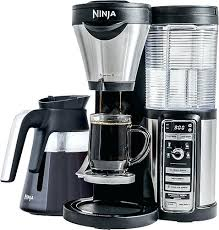 Mr Coffee Bvmc Pstx91 Manual Ninja Bar Brewer With Glass Carafe Stainless Steel Black