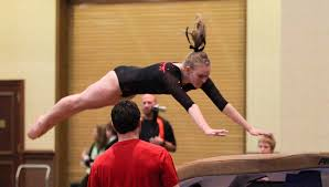 Usag Level 4 Floor Routine 2015 by The Front Handspring Vault This Cgm Knows