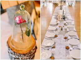 James Stokes Winter Wedding Reception Table Details