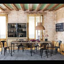 chaise industrielle maison du monde toile airport inspirations maison du monde le monde