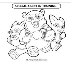 Disney Jr Coloring Pages Printable Archives And To Download