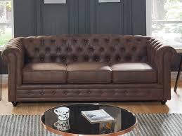 canap chesterfield cuir vieilli canapé et fauteuil microfibre vieilli vintage chesterfield