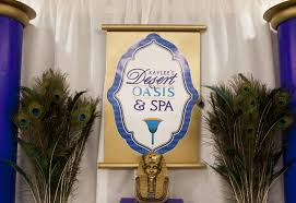 A Gorgeous Jewel Of The Nile Egyptian Spa Party