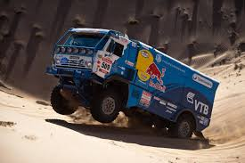 100 Redbull Truck Dakar Rally T4 Looks Out Of Place At Goodwood Revival
