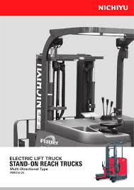 ELECTRIC LIFT TRUCK STAND-ON REACH TRUCKS FBRO10-25 - NICHIYU - PDF ... New Forklifts Toyota Nationwide Lift Trucks Inc Nissan 14 Tonne Narrow Isle Reach Truck Amazoncom Norscot Cat Reach Truck Nr16n Nr1425n H Range 125 The Driver Of A Forklift Pallet Editorial Linde R16shd12 Price 9375 Year Of Manufacture For Paper Rolls With Automatic Clamp Leveling High Ntp Manitou Er Trucks Er12141620 Stellar Machinery Monolift Mast Narrow Aisle Rm Crown Equipment Tf1530 Electric Charming China Manufacturer R Series 125t Desitting Demo Action