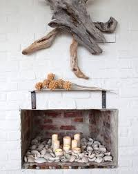 Fabulous Wood Wall Art An Installation With Two Large Driftwood Pieces Bouncing Differently Shaped Logs