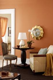 Warm Colors For A Living Room by Warm Orange Living Room Colors The Affect Of A Paint Color The