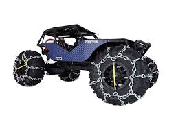 Snow Chains For 1.9 Or 2.2 1/10 Scale Crawlers Tires By T-Bone Racing