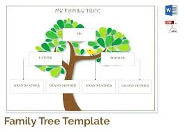 Family Tree Drawing Software Free 12 Doc To Create Template How Make A