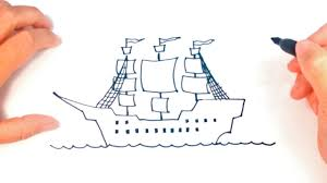 100 Design A Pirate Ship How To Draw A Step By Step Easy Draw Tutorial