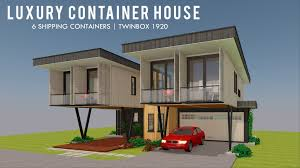 100 Luxury Container House TWINBOX 1920 ID S25321920 5 Beds 3 Baths 1920SFt