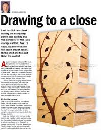 marquetry cabinet plans u2022 woodarchivist